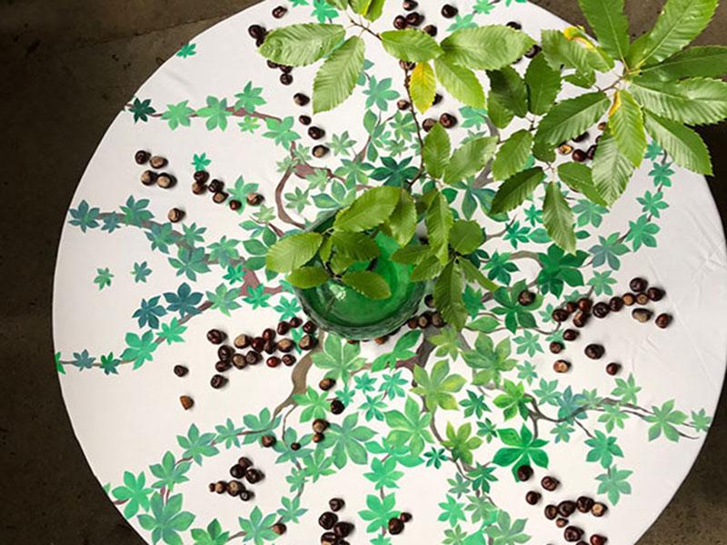 Vanessa Wilkey tablecloths